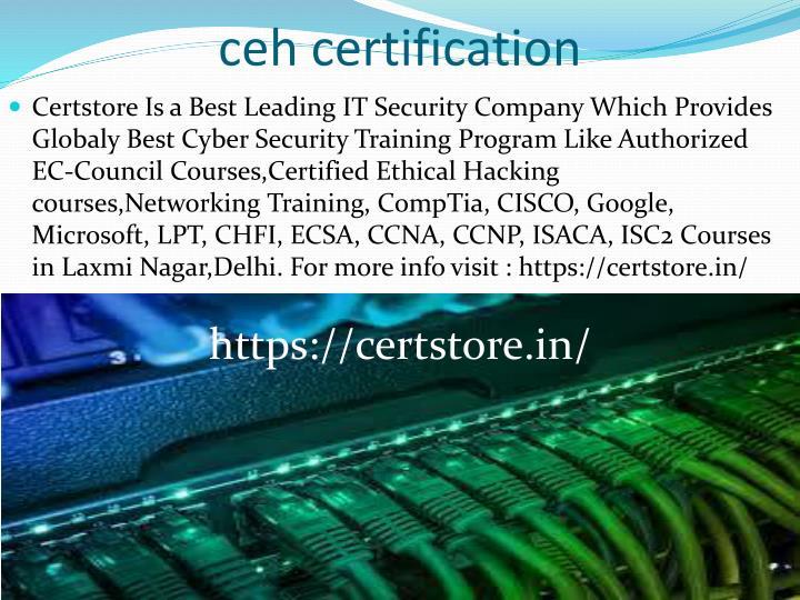 ceh certification