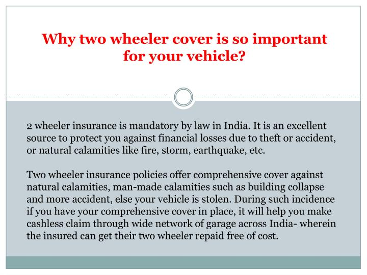 Why two wheeler cover is so important for your vehicle?