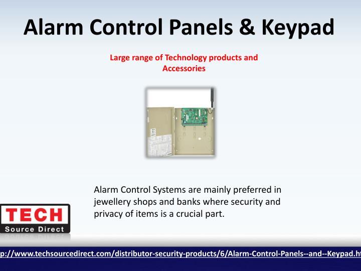 Alarm Control Panels & Keypad