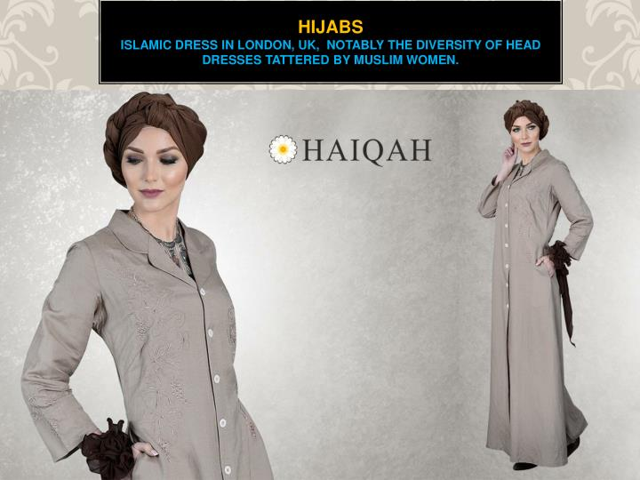 Hijabs islamic dress in london uk notably the diversity of head dresses tattered by muslim women