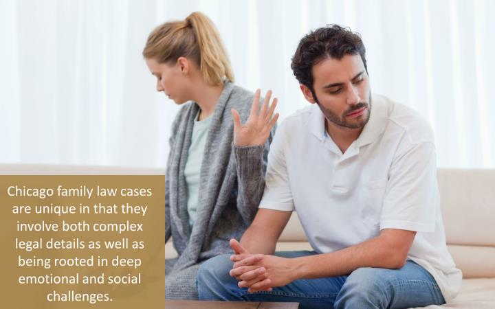 Chicago family law cases are unique in that they involve both complex legal details as well as being rooted in deep emotional and social challenges.