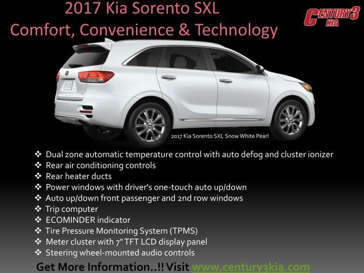 2017 Kia Sorento SXL