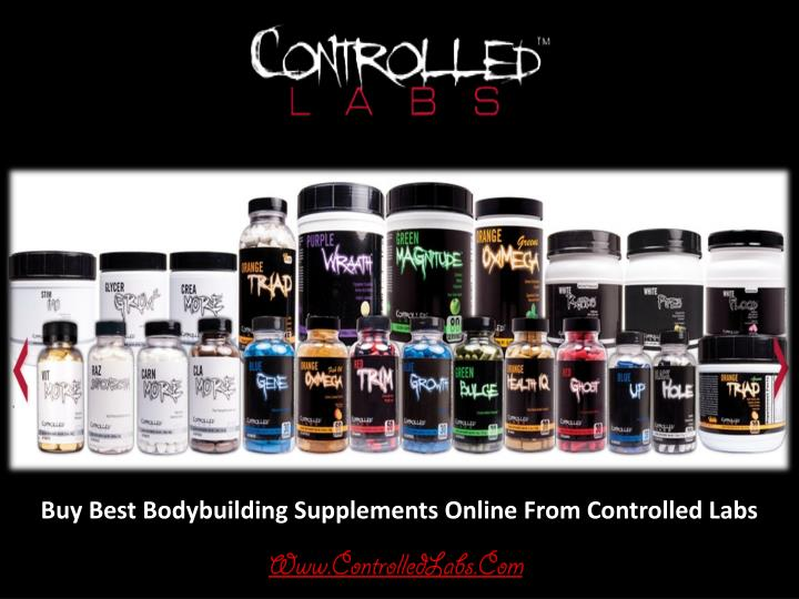Buy Best Bodybuilding Supplements Online From Controlled Labs