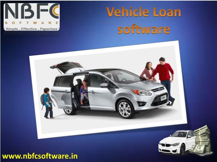 Vehicle Loan software