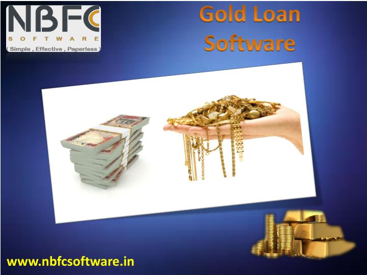 Gold Loan Software
