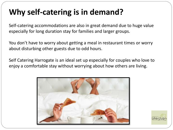 Why self-catering is in demand