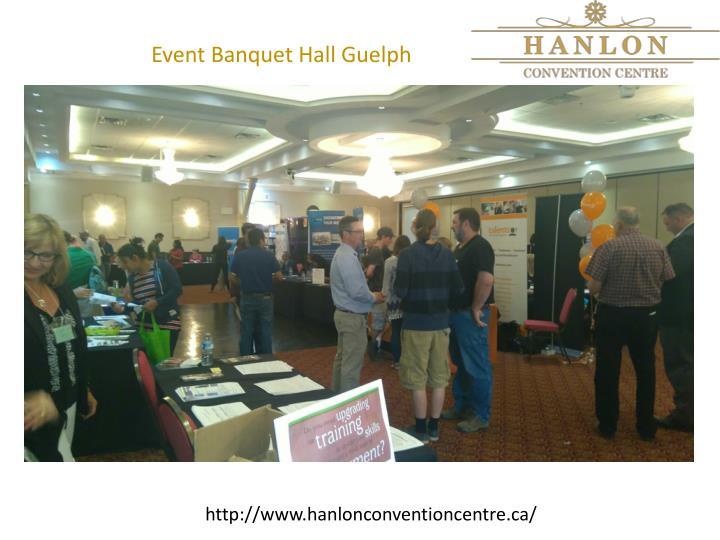 Event Banquet Hall Guelph