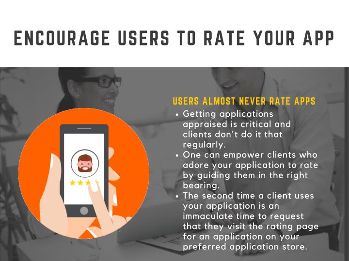 ENCOURAGE USERS TO RATE YOUR APP