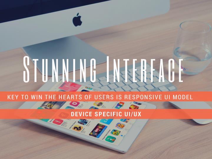 Stunning Interface