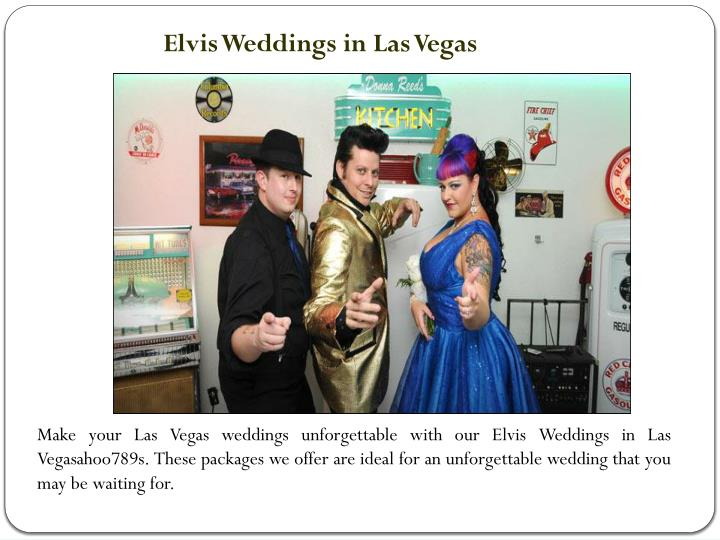 Elvis Weddings in Las Vegas