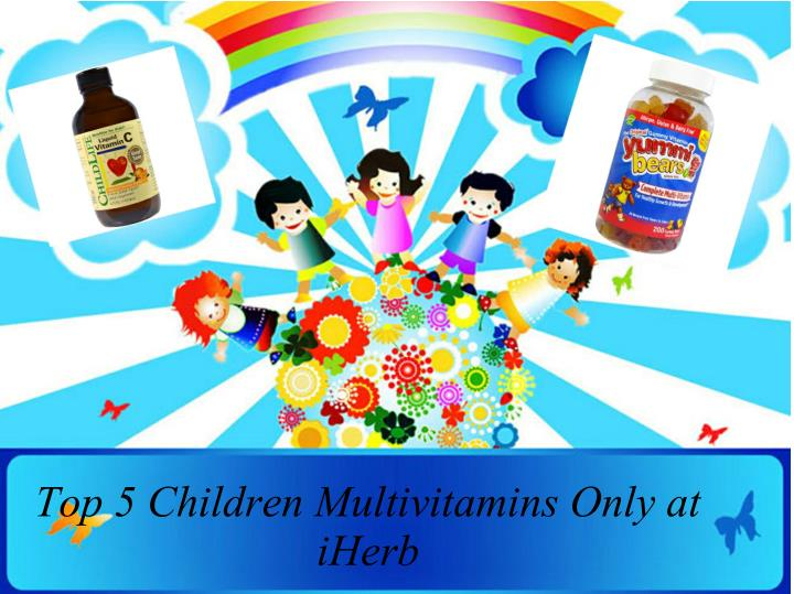 Top 5 Children Multivitamins Only at