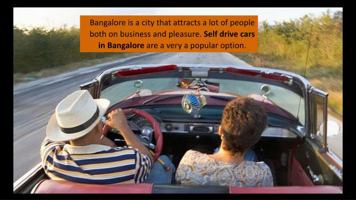 Bangalore is a city that attracts a lot of people both on business and pleasure.