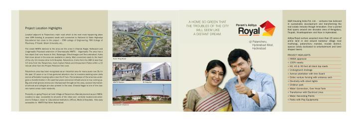 GGR Housing India Pvt. Ltd. -  ventures has believed