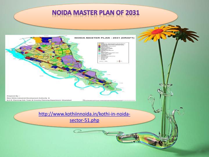 Noida Master Plan Of 2031