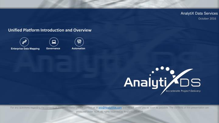 AnalytiX Data Services