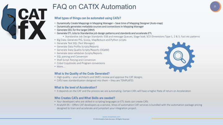 FAQ on CATfX Automation