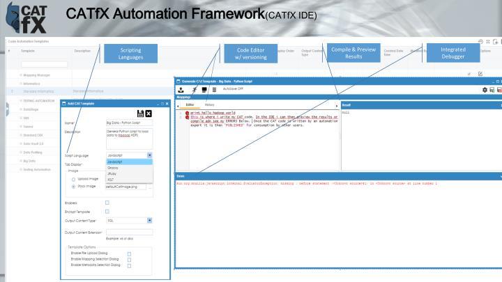 CATfX Automation Framework