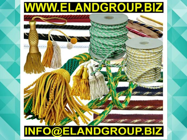 Bullion tassels cord wire supplier