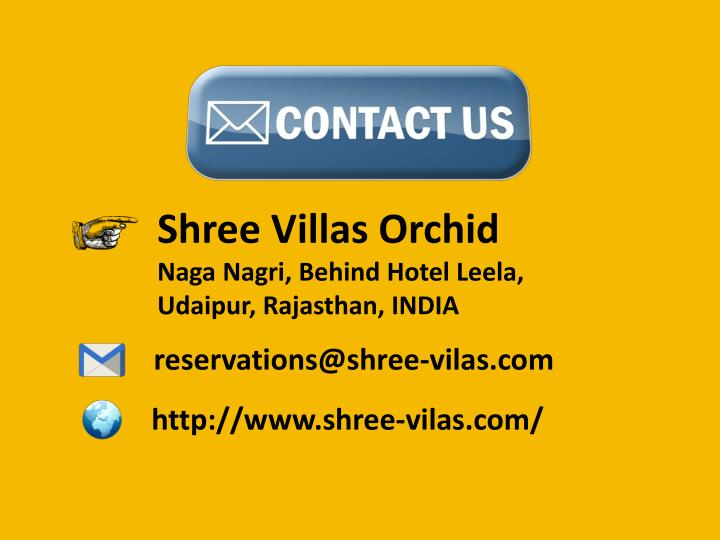 Shree Villas Orchid