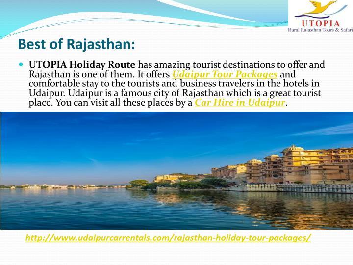 Best of Rajasthan: