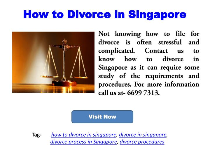 How to Divorce in Singapore