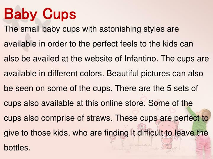 Baby Cups