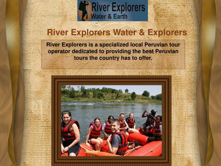 River Explorers Water & Explorers