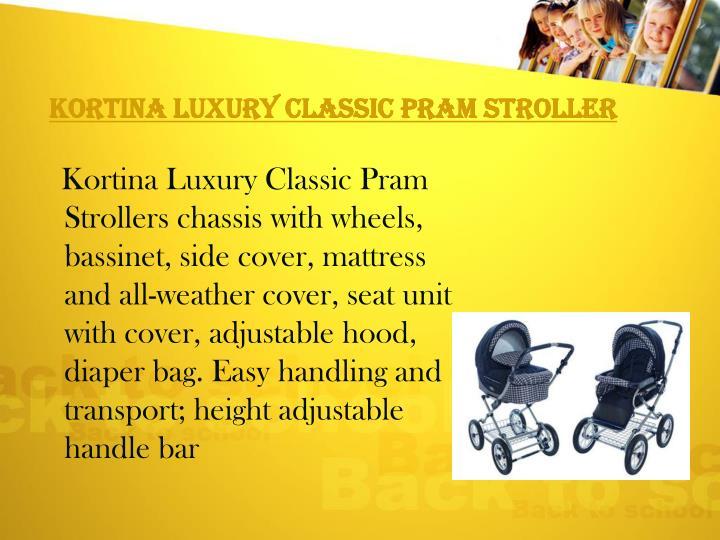Kortina Luxury Classic Pram Stroller