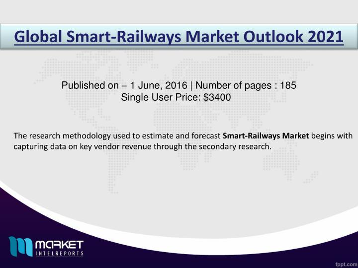 Global Smart-Railways Market Outlook 2021