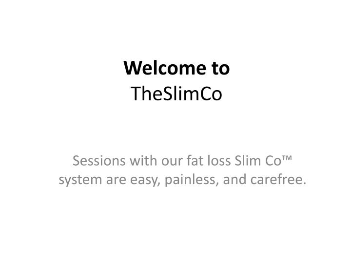 Welcome to theslimco