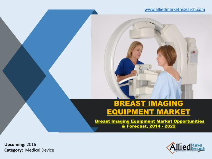 Breast imaging equipment market research forecast 2022