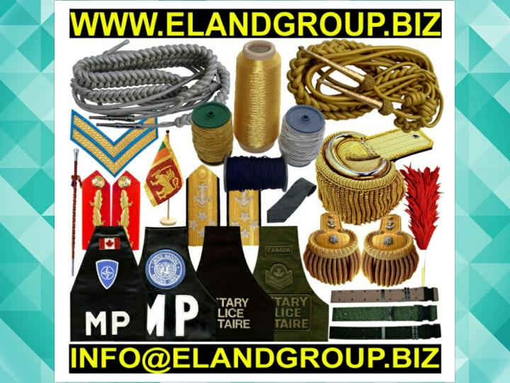 Military uniform aiguillettes military shoulder accessories supplier
