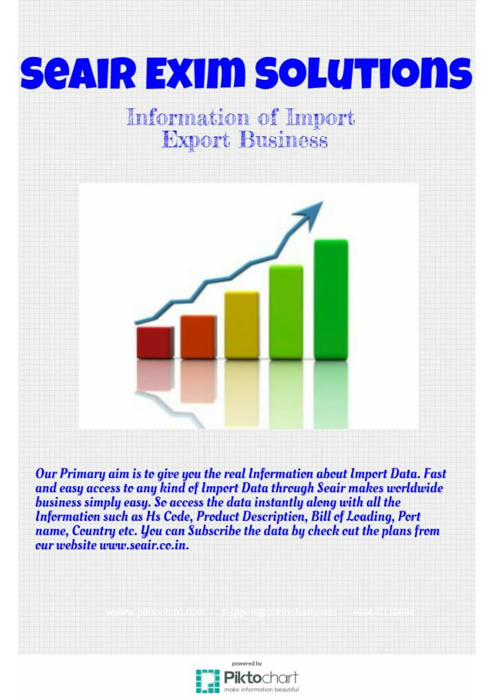 Service available 24 7 for import export data