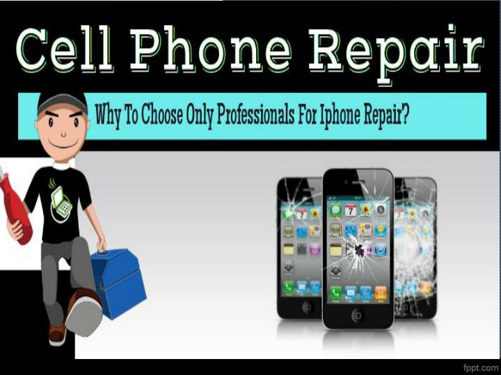 Choosing professional for iphone repair