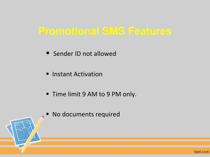 Promotional SMS Features