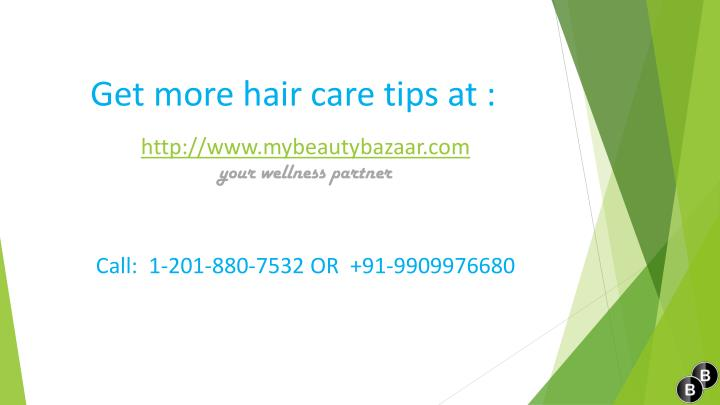 Get more hair care tips at :