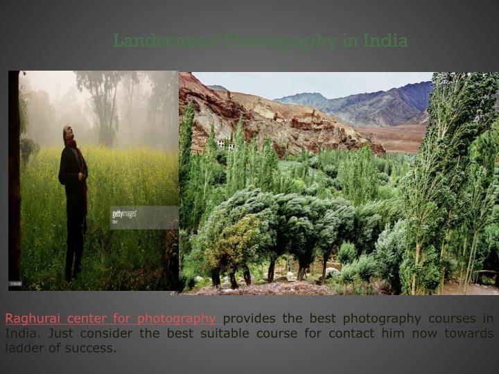 Landscapes Photography in India