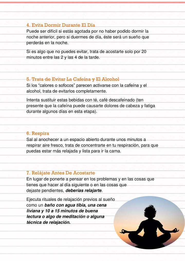 4. Evita Dormir Durante El Día