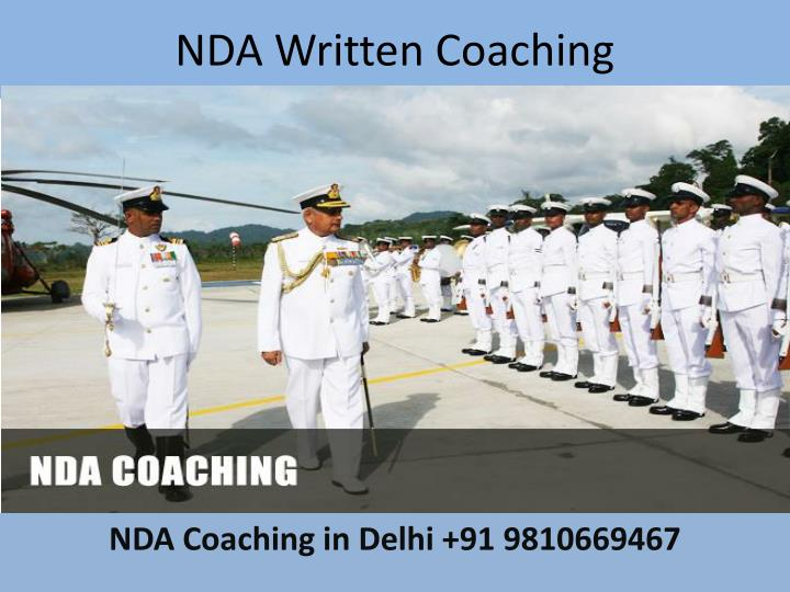 NDA Written Coaching