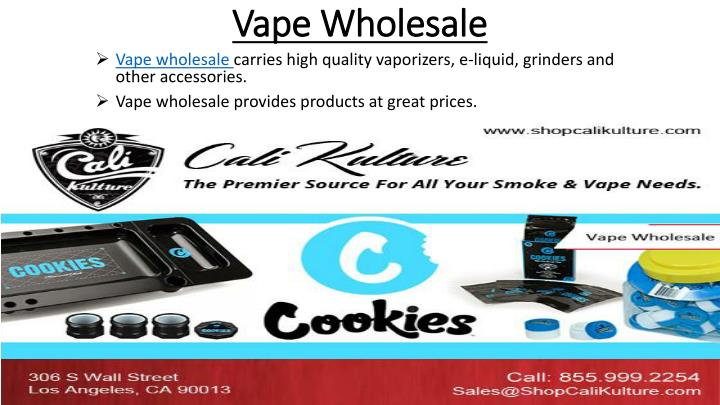 vape wholesale