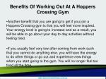 benefits of working out at a hoppers crossing gym3