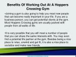 benefits of working out at a hoppers crossing gym4