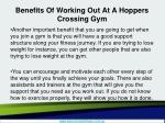 benefits of working out at a hoppers crossing gym5