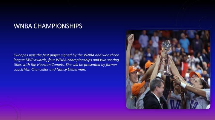 WNBA championships