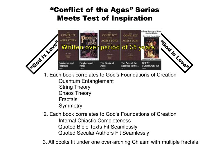 """""""Conflict of the Ages"""" Series"""