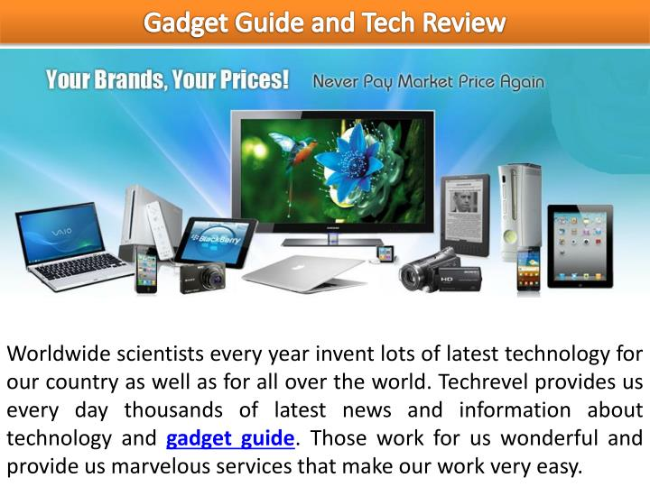 Gadget Guide and Tech Review