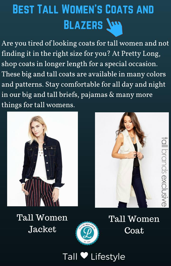 Best Tall Women's Coats and