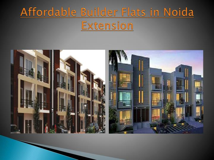 Affordable Builder Flats in