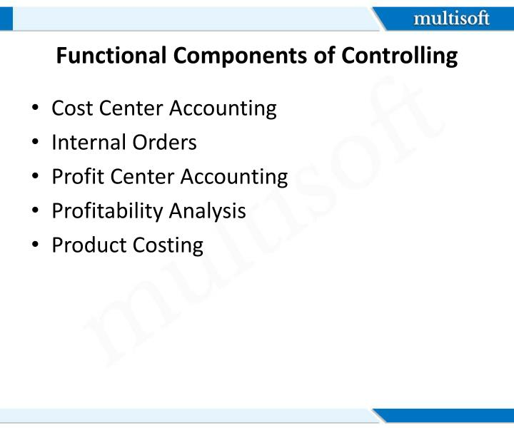 Functional Components of Controlling