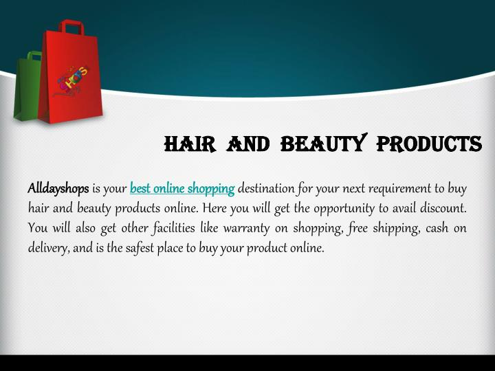 Hair  and  Beauty  Products